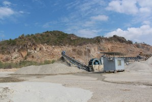 Nhà máy cát nghiền Sư Tử Biển Phước Hòa
